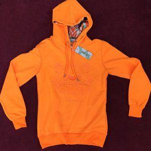 Kenzo Women Orange Sweatshirt Hoodie